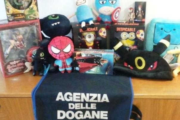 Falsi giocattoli, maxisequestro a Livorno