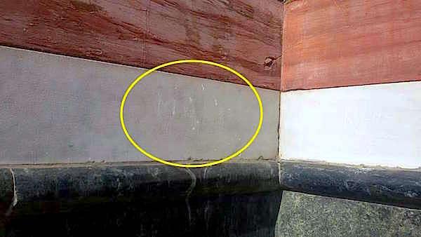La scritta incisa sul duomo di Firenze dal turista tedesco