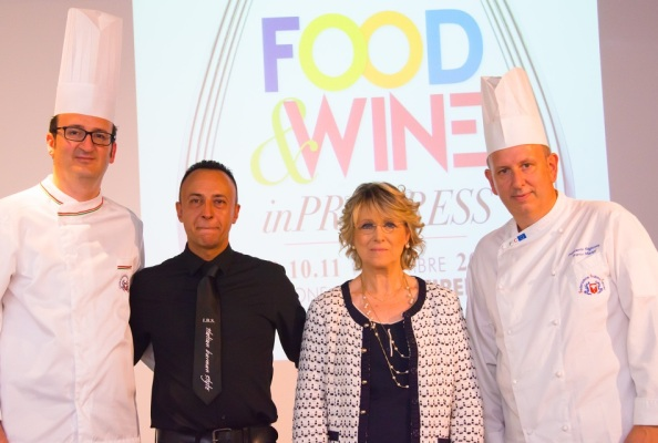Presentazione Food And Wine in Progress