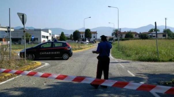 Carabinieri a Navacchio, dopo una fallita rapina nella sala Bingo il bandito