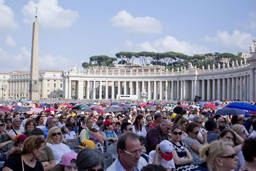VATICANO : CONVEGNO ECCLESIALE DIOCESANO CON PAPA FRANCESCO