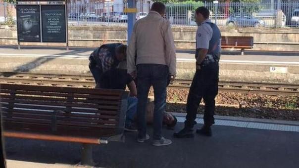 L'arresto dell'attentatore