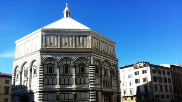 Firenze, 24 ottobre 2015, il Battistero di San Giovanni restaurato