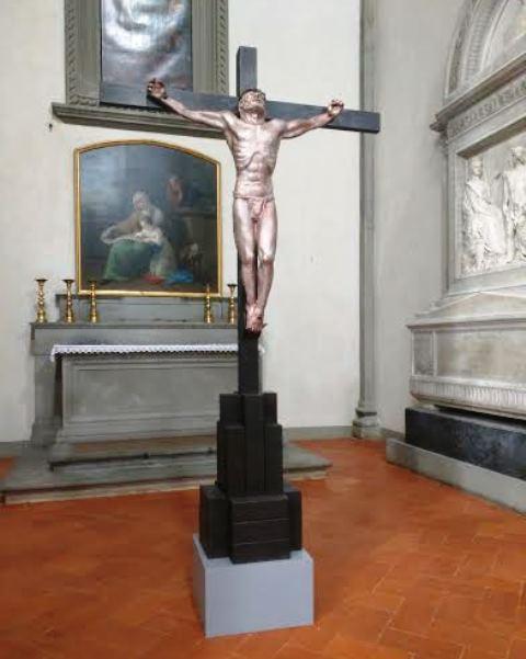 Firenze, Basilica di San Lorenzo, il crocifisso che sarà donato al Papa