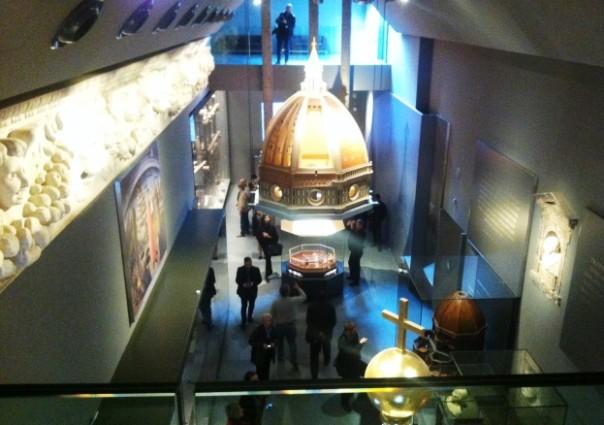 Firenze, una delle sale del nuovo museo dell'Opera del Duomo
