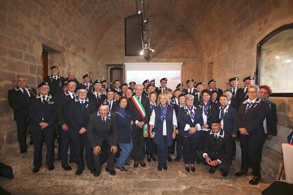 I gruppi dei dei Marinai d'Italia all'incontro a Isola del Giglio