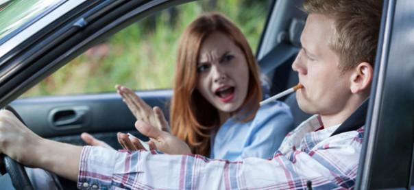 Fumo in auto