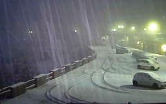 La prima nevicata seria all'Abetone, oggi 21 novembre (foto Facebook - Multipass Abetone)