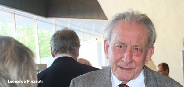 Una recente immagine del Maestro Leonardo Pinzauti