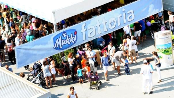 Un'edizione del Mukki Day, la festa del latte a Firenze