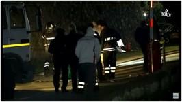 """L'intervento dei soccorritori dopo l'incidente (Foto da """"Il Giornale di Barga"""")"""