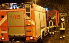 Firenze, vigili del fuoco in azione nella notte