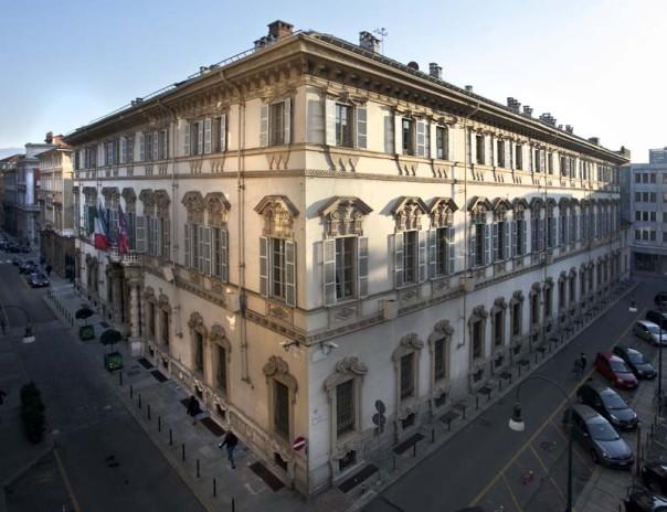 29/11/2013 Facciata di palazzo Lascris sede del Consiglio regionale del Piemonte - TASCABILE
