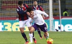 Bologna-Fiorentina, Mati Fernandez: sarà espulso per doppia ammonizione