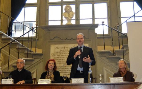 Il direttore degli Uffizi, Eike Schmidt, presenta le novità del Gabinetto disegni e stampe