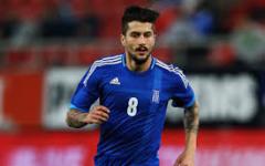 Panagiotis Kone, centrocampista greco arrivato dall'Udinese