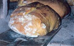 La cesta di pane del fornaio