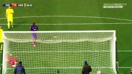 Il gol di Zarate con la leggera deviazione di Bianchetti