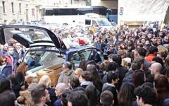 I funerali di Valentina Gallo