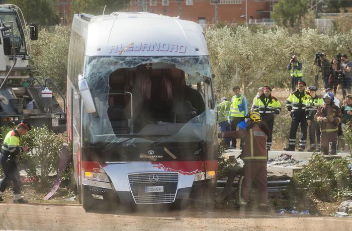Bus Catalogna:autista,'mi spiace,mi sono addormentato'