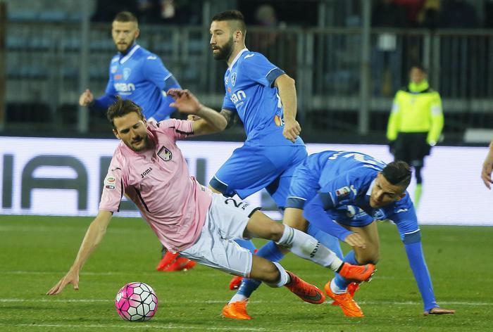 Soccer: Serie A; Empoli-Palermo