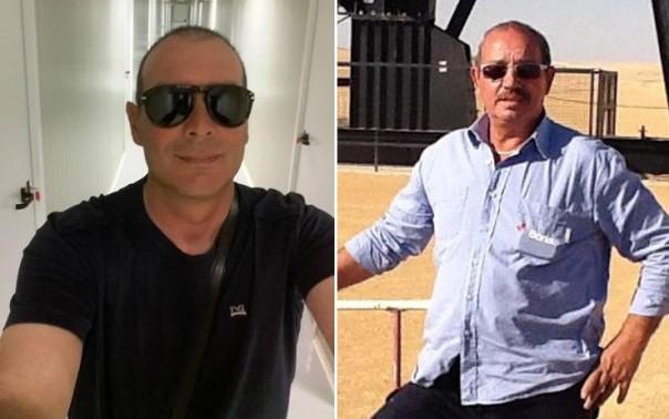 Salvatore Failla e Fausto Piano, i due dipendenti della Bonatti sequestrati dall'Isis e uccisi in Libia durante una sparatoria