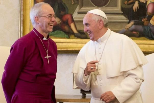 Justin Welby e Papa Francesco