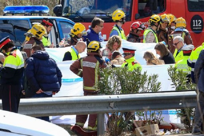 SPAIN-BUS-ACCIDENT-STUDENTS