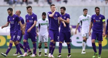 Ilicic manda un bacio ai tifosi dopo il suo gol: il tredicesimo del campionato