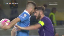 Gonzalo Rodriguez a muso duro con un avversario
