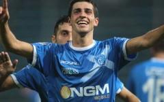 Pucciarelli, autore del primo gol empolese