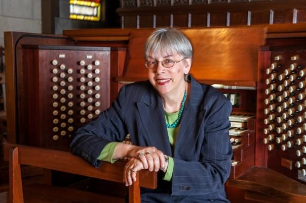 Gail Archer, ORGANIST_PORTRAITS_VASSAR COLLEGE_11.5.13 Photo Credit: Stephanie Berger.