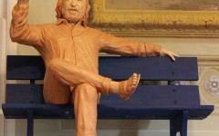 La statua a Monni, il bronzo di Campi