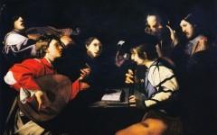 Bartolomeo Manfredi, Concerto musicale (1610-1620 ca.; Galleria degli Uffizi)