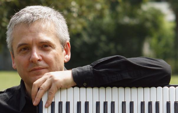 Il fisarmonicista Ivano Battiston, protagonista del concerto finale insieme al Quintetto dell'ORT