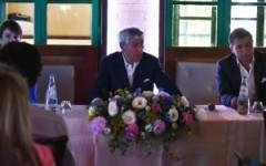 Gherardo Guidi alla conferenza stampa