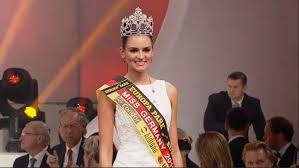 Lena Broder, miss Germania, seconda classificata a Miss Euro2016