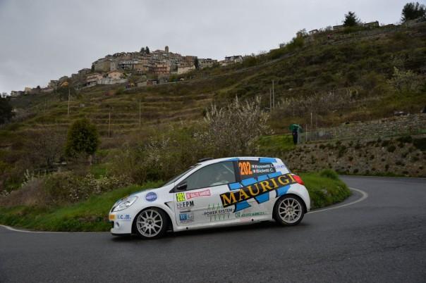 Luca Rossetti (ITA) - Chiara Bioletti (ITA), Renault Clio RS