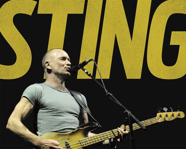 Sting, in concerto al Visarno giovedì 28 luglio