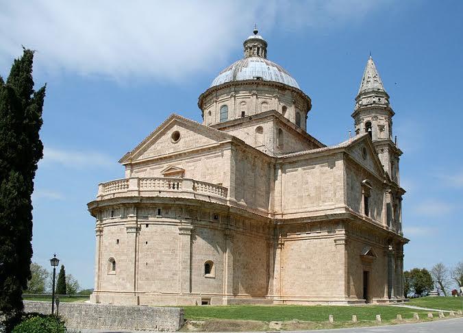 La cinquecentesca chiesa di San Biagio, a Montepulciano