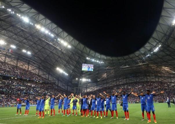 Semi final Germany vs France