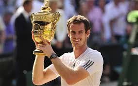 Andy Murray, vincitore di Wimbledon