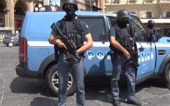 Per arrestare il romeno è intervenuto il gruppo antiterrorismo