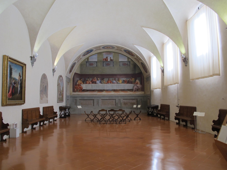 Il Museo di San Salvi, con l'affresco di Andrea del Sarto e molti quadri di manieristi, Pontormo compreso
