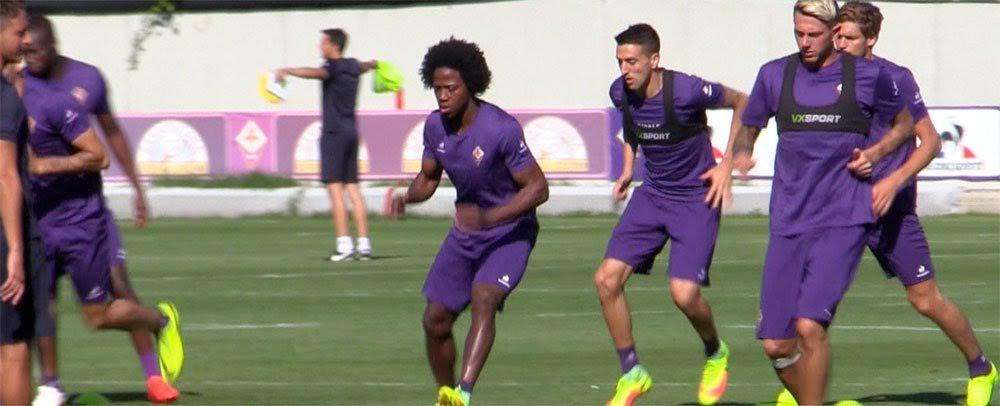 Fiorentina a Valencia: in primo piano il neo acquisto Carlos Sanchez