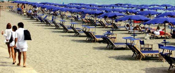 La spiaggia di Capalbio