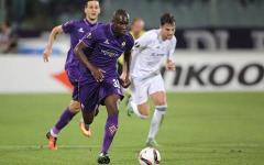 Babacar in azione: doppietta che promette di ripetere in campionato