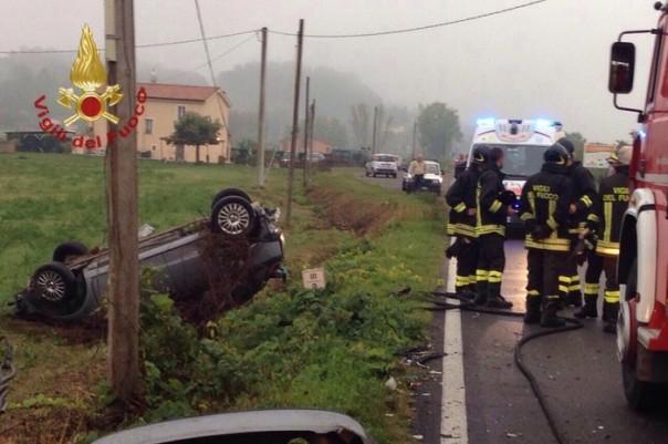 Incidenti stradali: muore 51enne nel Pisano