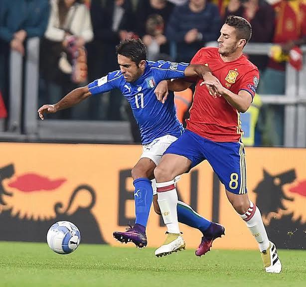 Eder: ha conquistato il rigore che ha permesso a De Rossi di segnare il gol del pareggio per l'Italia