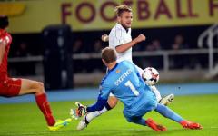 Ciro Immobile: ha trascinato l'Italia alla vittoria in Macedonia con una doppietta